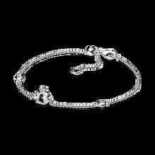 Bracelet à chaîne avec Ocouronné scintillant