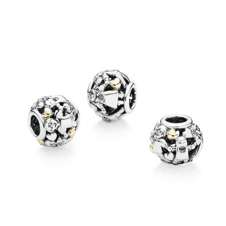 Family Forever Hearts, Two Tone - PANDORA - #791040