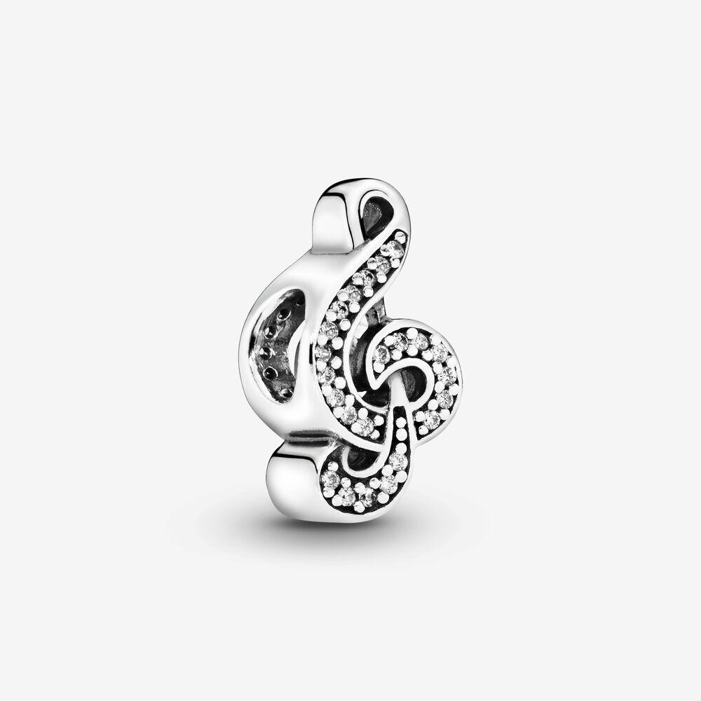 Treble Clef Music Charm | Sterling silver | Pandora Canada