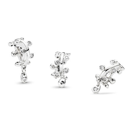 Chandelier Droplets Dangle Charm, Clear CZ, Sterling silver, Cubic Zirconia - PANDORA - #797106CZ