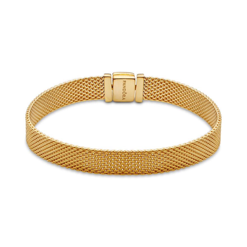 8e13af8763c31c Bracelet PANDORA Reflexions, PANDORA Shine, Or Plaqué 18ct, Aucun autre  matériel, Aucune