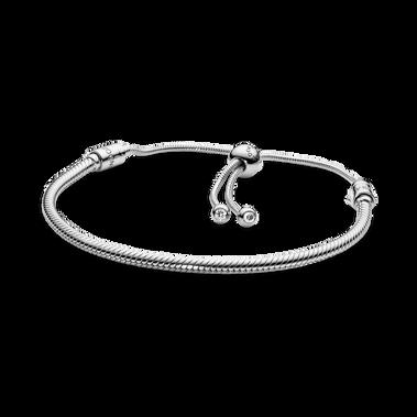 Bracelet coulissant à chaîne serpentine PandoraMoments
