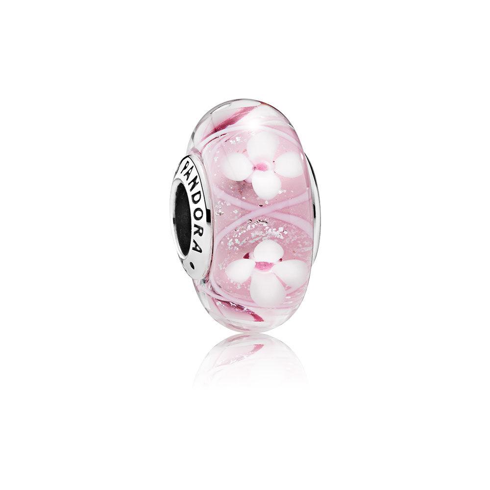 Pr de fleurs roses boutique en ligne de bijoux pandora for Ligne de fleurs