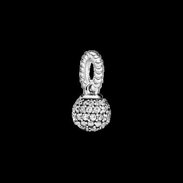 Pendentif sphère en pavé