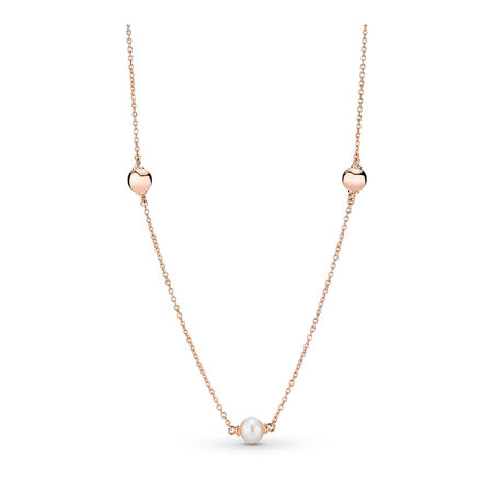 Collier Perles contemporaines, PANDORA Rose