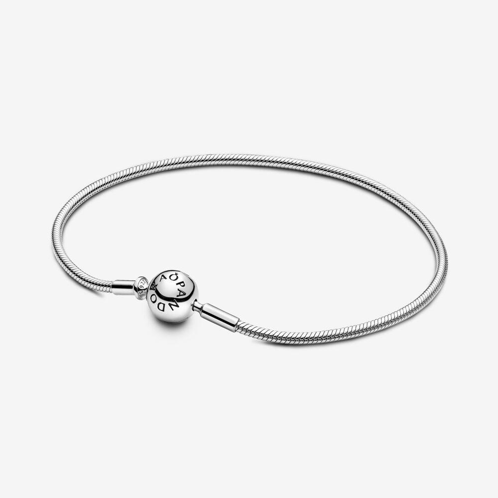 Pandora Me Slender Snake Chain Bracelet - FINAL SALE | Sterling ...