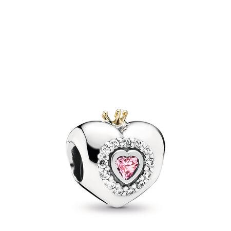 Princess Heart, Pink CZ