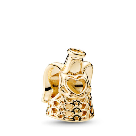 Ange de grâce, Or jaune 14 ct, Aucun autre matériel, Aucune couleur, Aucune pierre - PANDORA - #750999
