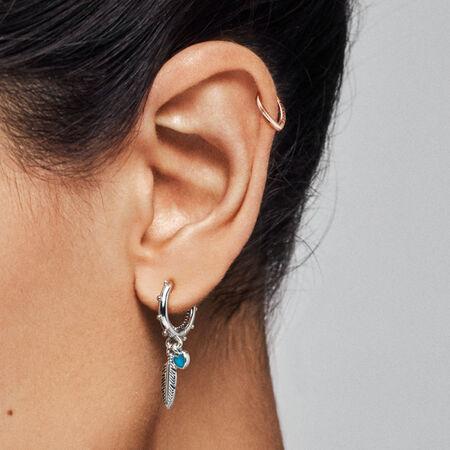 Open Heart Ear Cuff, PANDORA Rose™