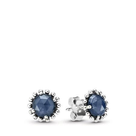 Étoile de la nuit, cristal bleu de minuit, Argent sterling, Aucun autre matériel, Bleu, Cristal - PANDORA - #290561NBC