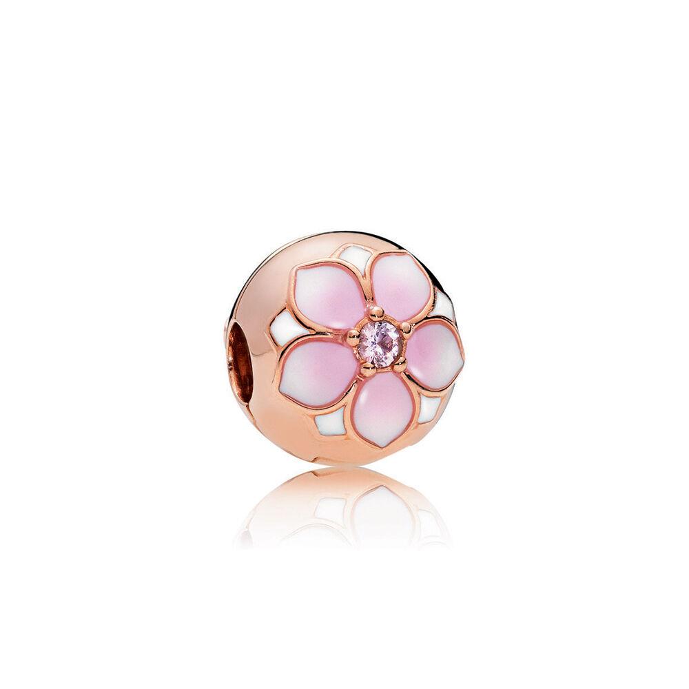 Pandora Earrings Canada Blooms Flower