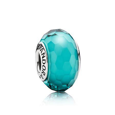 Fascinating Teal, Murano Glass