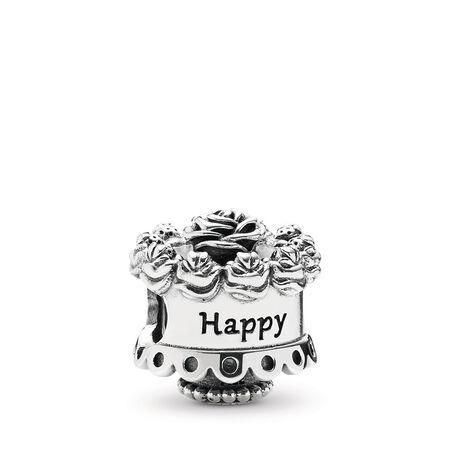 Bonne fête Charm D'argent, Argent sterling, Aucun autre matériel, Aucune couleur, Aucune pierre - PANDORA - #791289