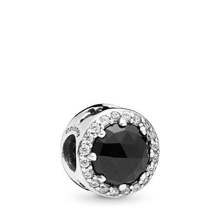 Charm Disney, La magie noire de la Reine-sorcière, cristaux noirs et cz incolore