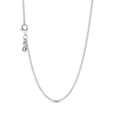 Classic Cable Chain Necklace, Sterling silver - PANDORA - #590412