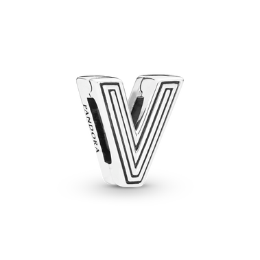 Letter V Charm - FINAL SALE
