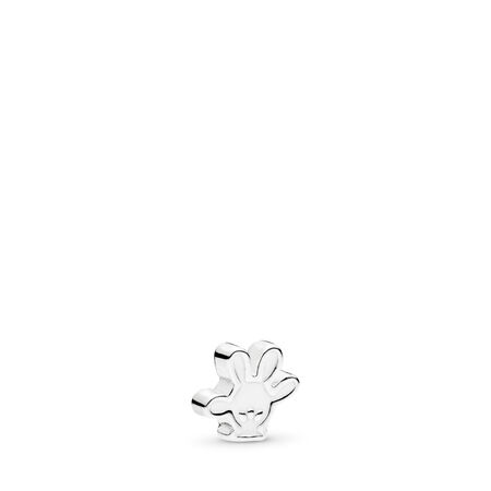 Mini Disney, Gant de Mickey, émail blanc