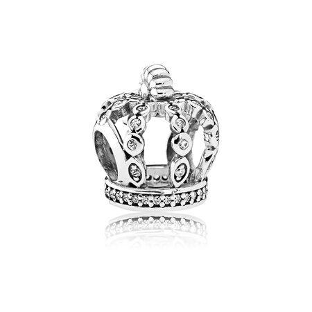 Fairytale Crown, Clear CZ