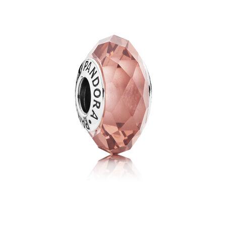 Blush fascinant, cristal blush, Argent sterling, Aucun autre matériel, Rose, Cristal - PANDORA - #791729NBP