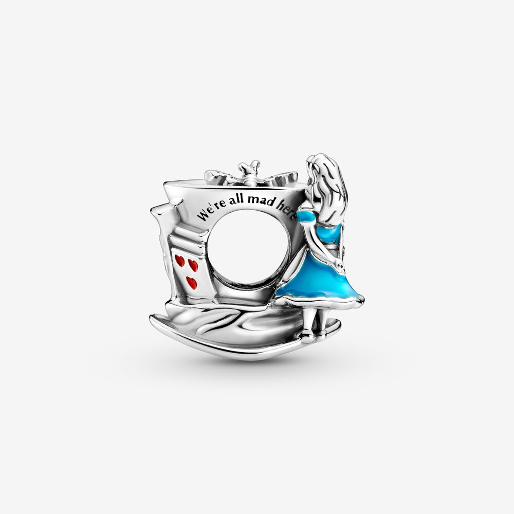 Disney Alice in Wonderland & The Mad Hatter's Tea Party Charm ...