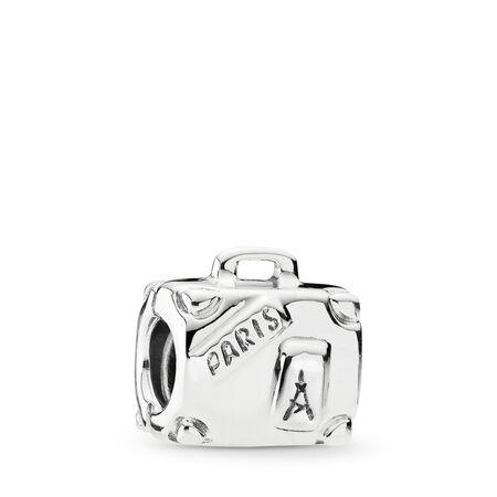 Suitcase, Sterling silver - PANDORA - #790362