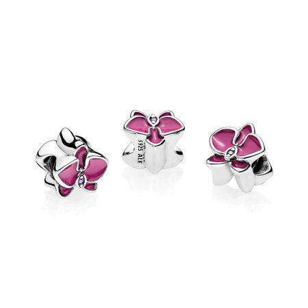 Orchid, Radiant Orchid Enamel & Purple CZ