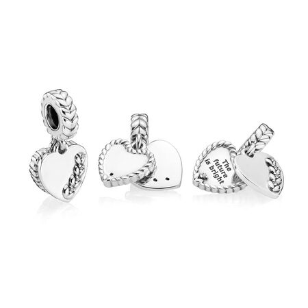 Charm Grains brillants, cz incolore