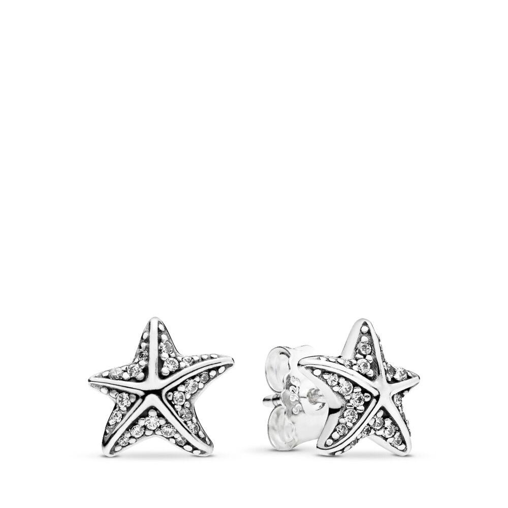 76a8d0060 Tropical Starfish, Clear CZ