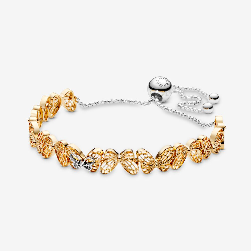 bracelet pandora papillon