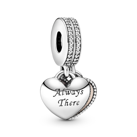 Always There Heart Dangle Charm