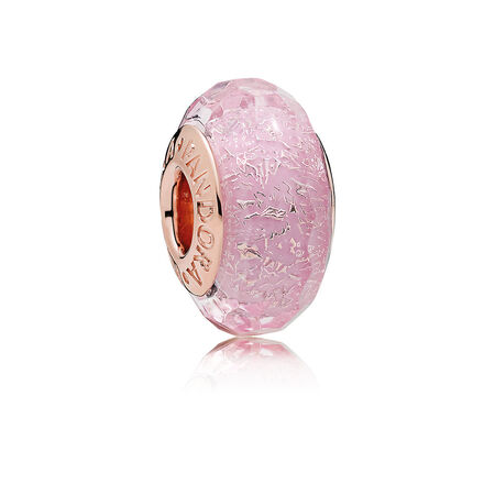 Pink Shimmer Glass, PANDORA Rose™