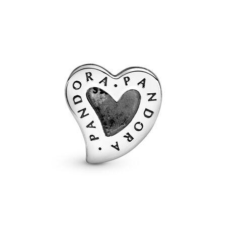 PANDORA Reflexions™ Asymmetric Heart of Love Charm