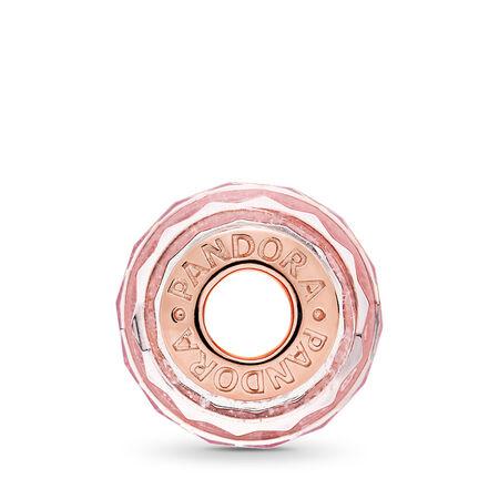 Pink Shimmer Glass, PANDORA Rose™, PANDORA Rose, Glass, Pink - PANDORA - #781650