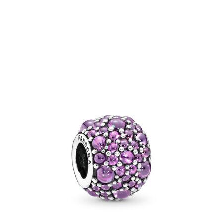 Reflets d'amour, cz violet fantaisie