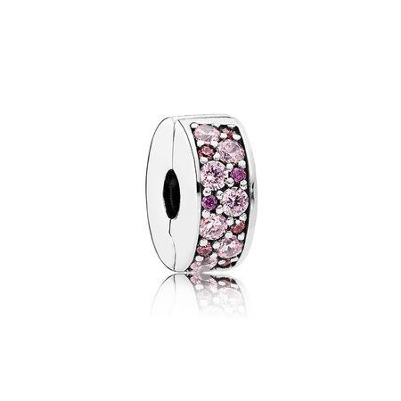 Mosaic Shining Elegance, Fancy Pink & Fancy Purple CZ