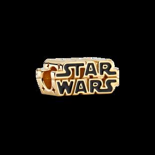 Charm Logo Star Wars resplendissant en 3D