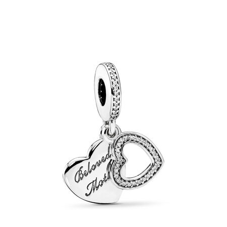 Beloved Mother, Clear CZ, Sterling silver, Cubic Zirconia - PANDORA - #791883CZ