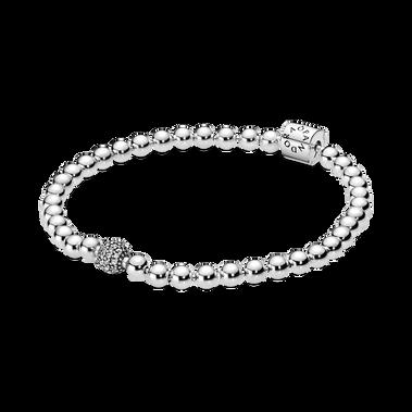 Beads & Pavé Bracelet