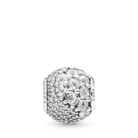 Enchanted Pavé Charm, Clear CZ