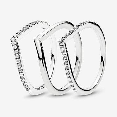 Wishbone Ring Stack
