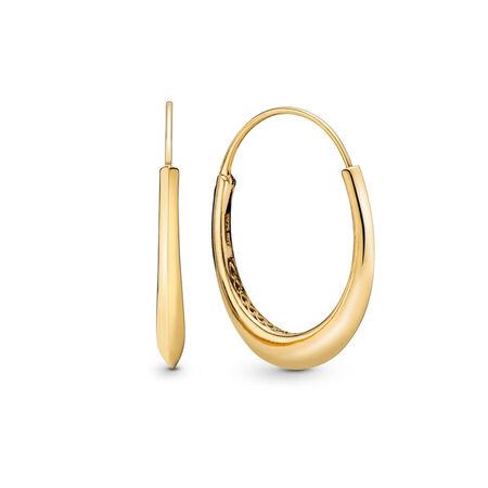 Boucles d'oreilles Gros anneaux en édition limitée