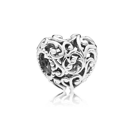 Regal Heart Charm