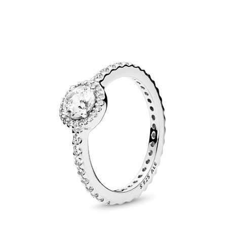 Classic Beauty Ring, Clear CZ