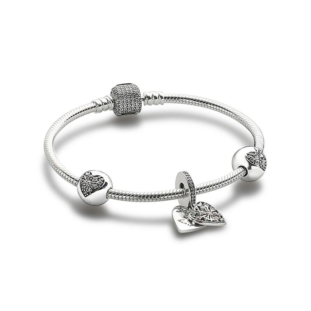 bracelet pandora coeur de l hiver