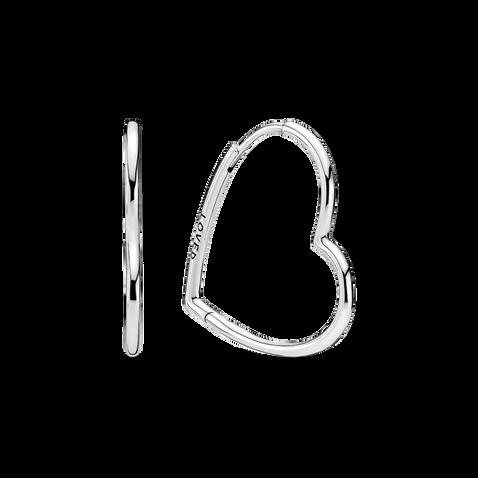 Créoles Cœurs asymétriques