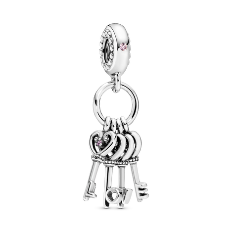Keys of Love Dangle Charm