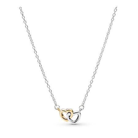 7185cbe36a93 United in Love Two-Tone Necklace