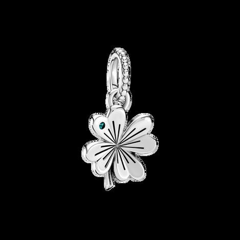 Lucky Four-Leaf Clover Pendant