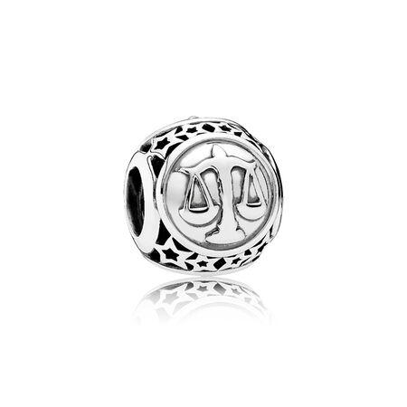 Libra Star Sign, Sterling silver - PANDORA - #791942