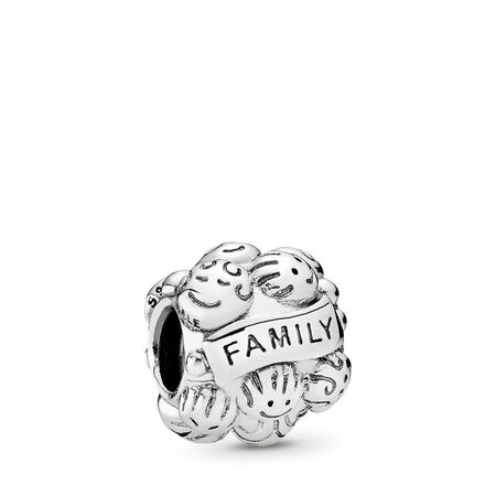 Love & Family, Sterling silver - PANDORA - #791039